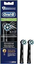 Kup Zestaw wymiennych końcówek do szczoteczki elektrycznej - Oral-B Cross Action CA EB50 Black Edition