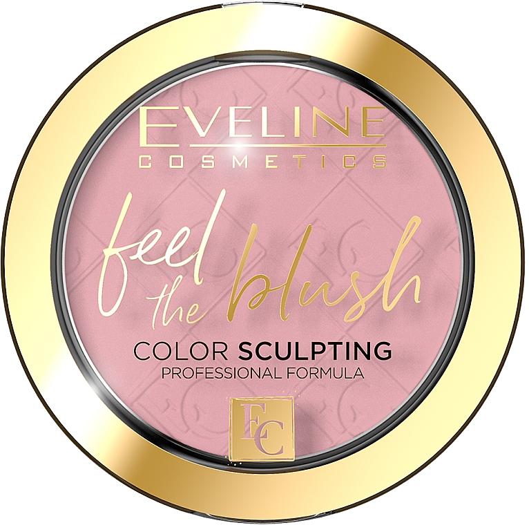 Róż do policzków - Eveline Cosmetics Feel The Blush!