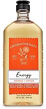 Kup Bath and Body Works Orange Ginger Energy - Żel pod prysznic z naturalnymi olejkami eterycznymi Eukaliptus i herbata