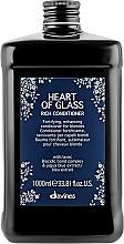 Kup Odżywka pielęgnująca kolor do włosów farbowanych i rozjaśnianych - Davines Heart Of Glass Rich Conditioner