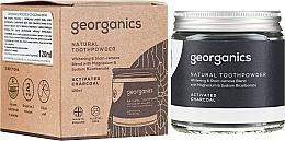 Naturalny proszek do zębów - Georganics Activated Charcoal Natural Toothpowder — фото N4