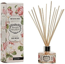 Kup Dyfuzor zapachowy Róża - Panier Des Sens Rose Nectar Reed Diffuser