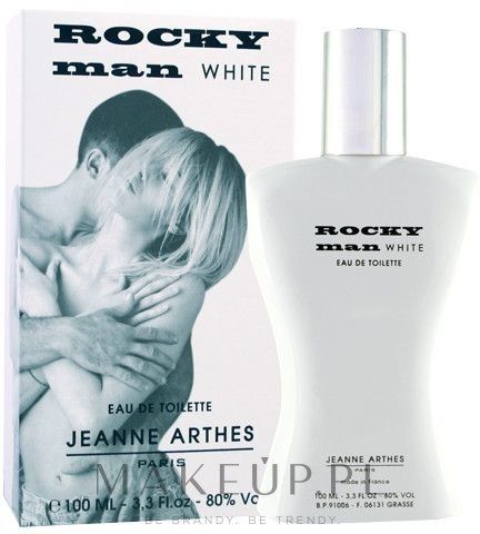 jeanne arthes rocky man white