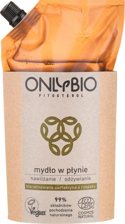 Mydło w płynie Nawilżanie i odżywianie - Only Bio Fitosterol (refill) — фото N1