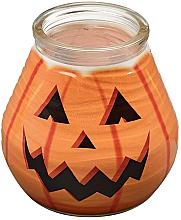 Kup Świeca dekoracyjna w słoiczku, 94/91 mm - Bolsius Candle Patiolight Pumpkin