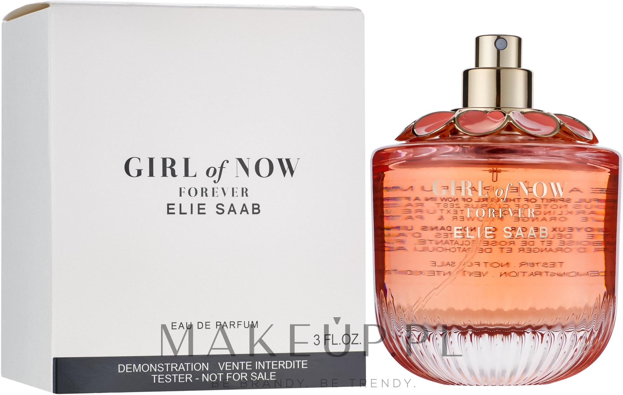Elie Saab Girl Of Now Forever - Woda perfumowana (tester bez nakrętki) — фото 90 ml
