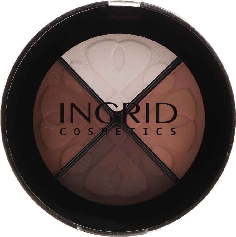 Poczwórne cienie do powiek - Ingrid Cosmetics Smoky Eyes Eyeshadows