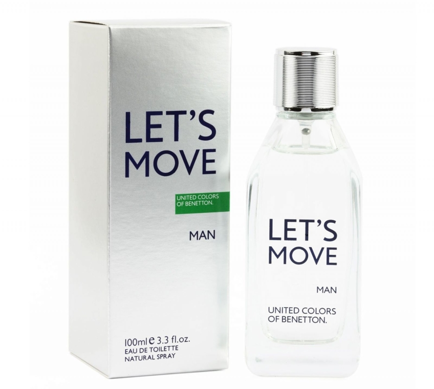 Benetton Let's Move - Woda toaletowa