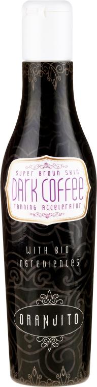 Emulsja przyspieszająca opalanie - Oranjito Dark Coffee Super Brown Skin Accelerator — фото N1