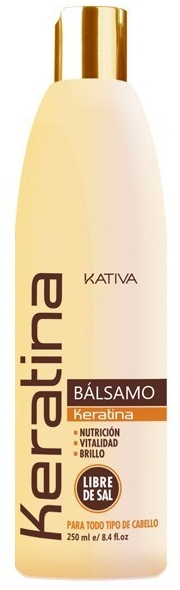 Keratynowy balsam do włosów - Kativa Keratina Conditioner Balm