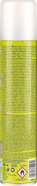 Suchy szampon do włosów - Time Out Original — фото N4