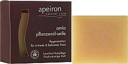 Kup Naturalne mydło Amla do regeneracji skóry - Apeiron Amla Plant Oil Soap