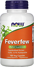 Kup Suplement diety Yucca, 500mg - Now Foods Feverfew