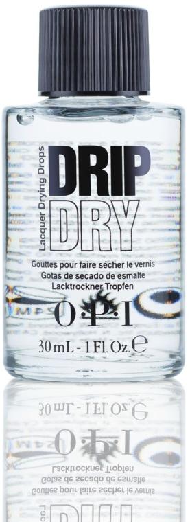Krople przyspieszające schnięcie lakieru do paznokci - O.P.I Drip Dry Drops — фото N1