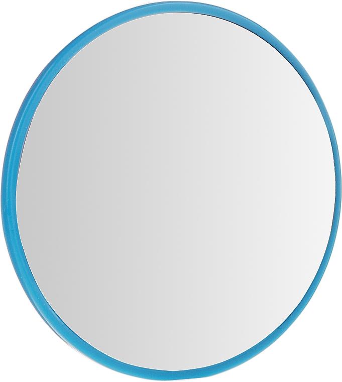 Okrągłe lusterko kieszonkowe, 9511, 7 cm, niebieskie - Donegal — фото N1