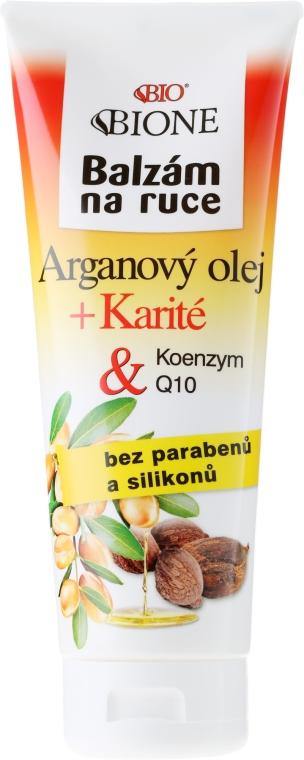 Balsam do rąk z olejem arganowym i koenzymem Q10 - Bione Cosmetics Argan Oil Hand Ointment
