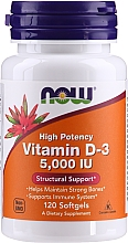 Kup Suplement diety Witamina D-3 - Now Foods Vitamin D-3 5000 IU Structural Support