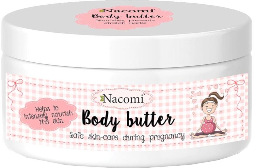 Intensywnie pielęgnujące masło do ciała dla kobiet w ciąży - Nacomi Pregnant Care