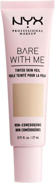 Koloryzujący krem do twarzy - NYX Professional Makeup Bare With Me