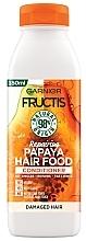 Kup Rewitalizująca odżywka, Papaja - Garnier Fructis Repairing Papaya Hair Food Conditioner