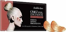 Kup Ujędrniające płatki liftingujące pod oczy - Double Dare Omg! Foil Eye Patch Rose Gold Therapy