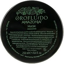 Regenerująca maska do włosów - Orofluido Amazonia Mask — фото N2