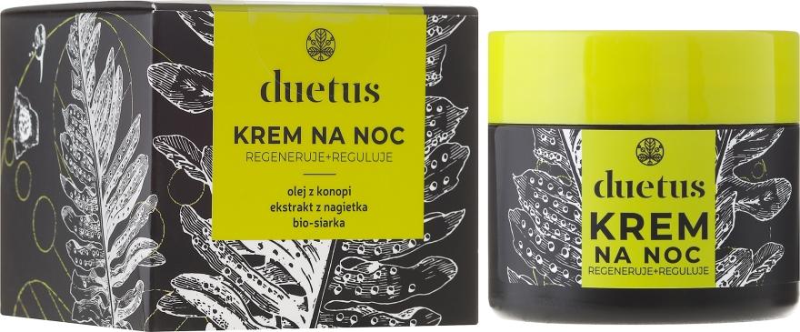 Krem na noc - Duetus