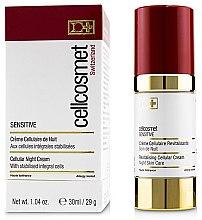 Kup Komórkowy krem do skóry wrażliwej na noc - Cellcosmet Sensitive Night Cream