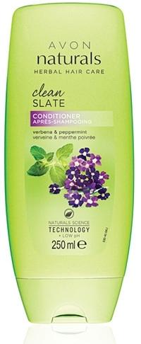 Odżywka do włosów Werbena i mięta pieprzowa - Avon Naturals Herbal Hair Care Clean Slate Conditioner — фото N1
