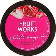 Kup Masło do ciała Rabarbar i granat - Grace Cole Fruit Works Body Butter Rhubarb & Pomegranate