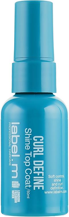 Nabłyszczające serum do włosów kręconych - Label.m Curl Define — фото N1