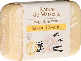 Kup Mydło owsiane o zapachu magnolii i wanilii - Nature de Marseille