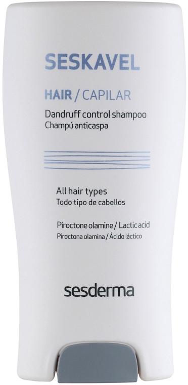 Przeciwłupieżowy szampon do włosów na łupież suchy - SesDerma Laboratories Seskavel Control Anti-Dandruff Shampoo/Dry Scalp — фото N2