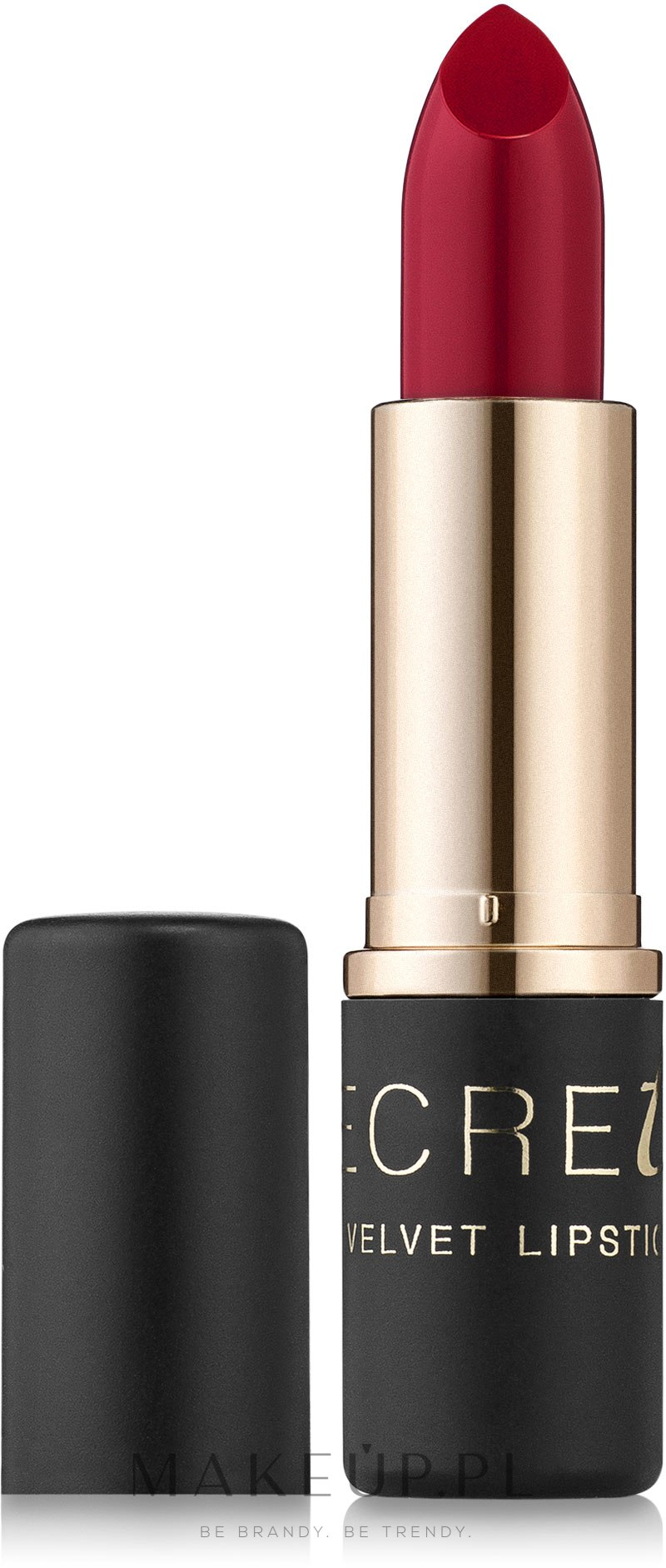 Matowa szminka do ust - Bell Secretale Velvet Lipstick — фото 05