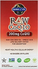 Kup Suplement diety Koenzym Q-10 - Garden of Life Raw CoQ-10