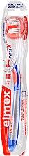 Kup Miękka szczoteczka do zębów przeciw próchnicy, przezroczysto-niebiesko-pomarańczowa - Elmex Toothbrush Caries Protection InterX Soft Short Head
