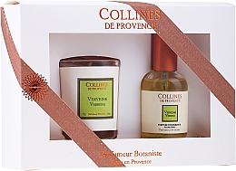 Kup Zestaw prezentowy Werbena - Collines de Provence Verbena (cand/75g + parf/50ml)