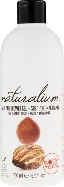 Płyn do kąpieli i pod prysznic Shea i makadamia - Naturalium Bath And Shower Gel Shea And Macadamia — фото N1