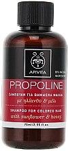 Kup Szampon do włosów farbowanych Słonecznik i miód - Apivita Propoline Shampoo For Colored Hair