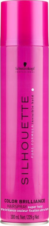 Lakier do włosów farbowanych - Schwarzkopf Professional Silhouette Color Brilliance Hairspray