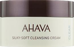 Kup Krem oczyszczający do twarzy - Ahava Time to Clear Ahava Silky Soft Cleansing Cream