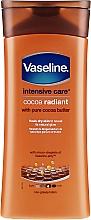 Kup Nawilżający lotion do ciała - Vaseline Intensive Care Cocoa Radiant Lotion