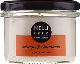 Kup Świeca zapachowa Pomarańcza i cynamon - Melli Care Orange & Cinnamon Soy Wax Scented Candle