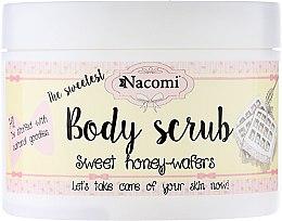 Kup Scrub do ciała Miodowe gofry - Nacomi Body Scrub Sweet Honey Wafers