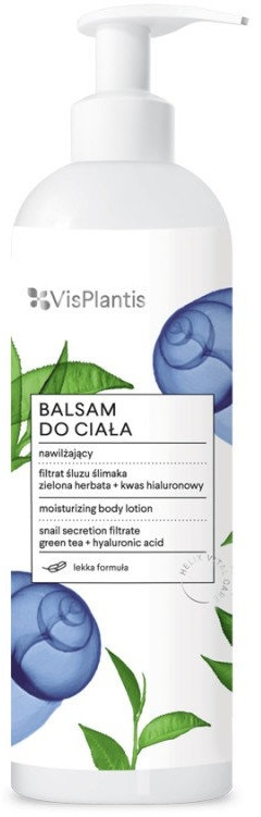Nawilżający balsam do ciała z filtratem ze śluzu ślimaka - Vis Plantis Helix Vital Care