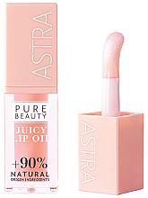 Kup Olejek do ust - Astra Make-up Pure Beauty Juicy Lip Oil