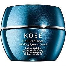 Kup Rozświetlający krem na okolice oczu - Kose Rice Power Extract Cell Radiance Revive & Revitalize Moisturizing Eye Cream