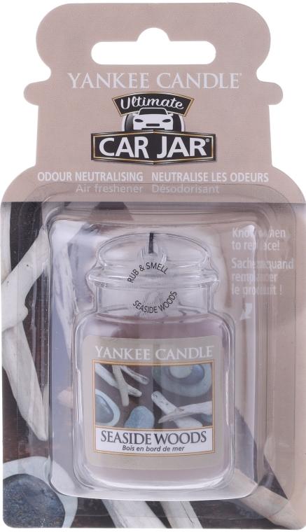 Zapach do samochodu - Yankee Candle Car Jar Seside Woods — фото N1
