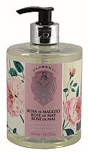 Kup Mydło w płynie Róża majowa - La Florentina Rose Of May Liquid Soap