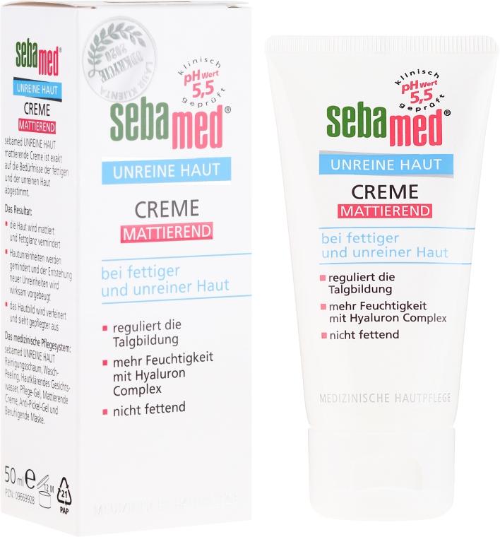 Matujący krem do twarzy - Sebamed Clear Face Mattifying Cream — фото N1